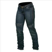 Calça Jeans Hlx Feminina Penélope Azul Com Proteção