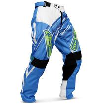 Calça Insane 3 Motocross Pro Tork Azul Trilha Enduro