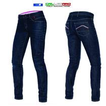 Calça Jeans Dainese Feminina - Proteção Em Kevlar