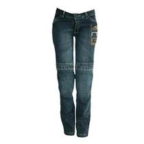 Calça Jeans Hlx Feminina Penélope Azul Com Proteção -