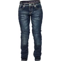 Calça Jeans Feminina Texx Evolution Kevlar Carmin Lady Azul