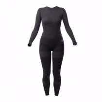 Conjunto Segunda Pele Calça + Camisa Feminina Riffel P