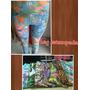 Leg Estampada Para Academia Coton Modelo Fitness P-m-g-gg