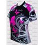 Camisa Ciclista Feminina Borboleta Penks