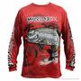 Camiseta De Pesca Monster 3x Fish Colection Tarpon Tam G