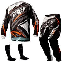 Conjunto Pro Tork Insane 3 Trilha Enduro Motocross + Brinde