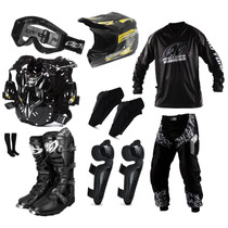 Kit Conjunto Piloto Motocross Trilha Pro Tork Insane Brindes