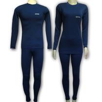Roupa Térmica - Thermo-one - Calça E Camisa - Azul - 2° Pele