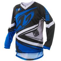 Camisa Insane 4 Azul Motocross Pro Tork Nova 2015 + Frete