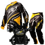 Kit Motocross Pro Tork Infantil Insane 3 Amarelo Kids