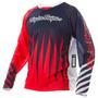 Camisa Bike Troy Lee Sprint Joker Red/ Navy