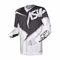 Camisa Asw Image Vented 2015 - Preto/branco