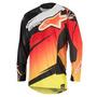Camisa Alpinestars Techstar Venom 16 Vermelho/amarelo M Rs1