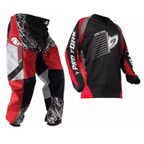 Conjunto Pro Tork Insane Motocross Trilha + 2 Brindes