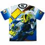 Camiseta Precisport Piloto Valentino Rossi Casco 07