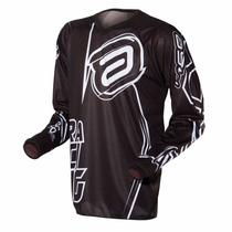 Camisa Moto Asw Image, Motocross Trilha E Enduro