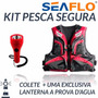 Kit Jaqueta P/pesca-poliester 300d-g E Lanterna Prova D