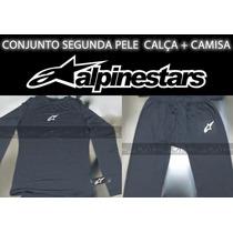 Roupa Térmica - Segunda Pele Alpinestars (calça + Camisa)
