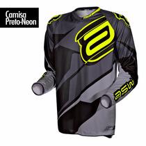 Camisa Asw Image Race Trilha Motocross