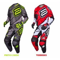 Conjunto Kit Calça + Camisa Asw Image Race Trilha Motocross