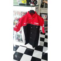Camisa Equipe Yamaha Mundial Sbk Tamanho L/xl