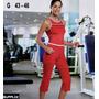 Set Para Treino_esporte_fitness_dança_supplex Respirável G