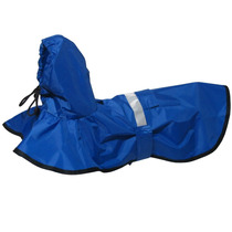 Capa De Chuva Azul Futon Dog & Home - Grande - Meu Amigo Pet