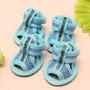 Promoção!!! Calçados Verão Velcro Malha - Tam 2 - Cor Azul