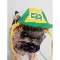 Boné Brasil Cães E Gato - Tamanho G