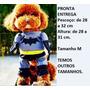 Roupa Fantasia Cachorro Gato Batman Tamanho M