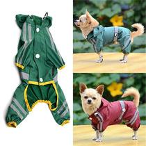 Jaqueta Capa De Chuva Impermeável Para Cachorro Cães