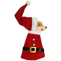 Fantasia Papai Noel Natal Roupas Cães Roupas Para Cachorro
