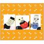 Meia Para Cães - Em Algodão - Kit Com 4. Pp - P - M - G