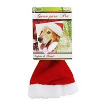 Touca Natalina Gorro De Papai Noel Para Cachorro Cães