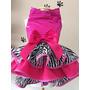 Vestido Pink Lantejoula Pet - Roupas Para Cachorro