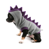 Roupa Agasalho Dinossauro Cachorro Em Soft Pet Lord