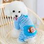 Roupa Pet Dog Petline Azul