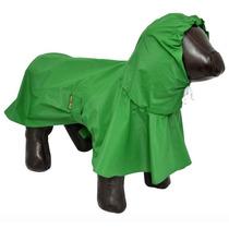 Capa De Chuva P Cães Cachorros Impermeável Tamanho Pp Verde