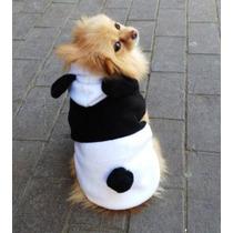 Roupa Casaco Para Cachorro Pequeno Porte Panda Tamanho Pp
