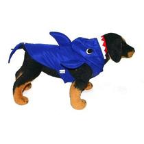Fantasia De Tubarão Para Cães Cachorros Tam G