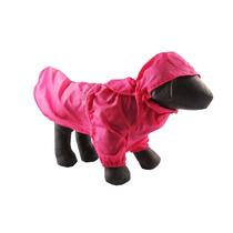 Capa De Chuva Para Cachorro Premium Rosa Tam. 02