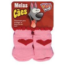 Roupinha Meia Cães Fêmea Cor Rosa Pet Shop Tamanhos P E M