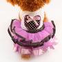 Vestido Roupa Roupinha Cães Pet Lilás Roxo Festa Junina