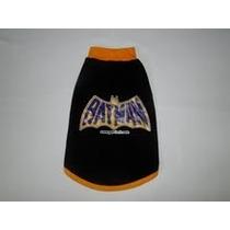 Regata Fantasia Carnaval Batman Para Cães E Gatos