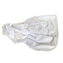 Vestido De Noiva Para Cachorro Bichinho Chic - Tamanho 06