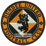 Tiuk002 Dundee United 8,5cm Escudo Símbolo Tag Patch Bordado