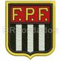 Tpc079 F.p.f. Federação Paulista De Futebol Patch Bordado