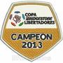 Tpc145 Copa Libertadores 2013 8x7,8cm Atlético Patch Bordado