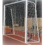 Par De Rede Para Trave Futebol De Salão Fio 2 3,20m X 2,20 M