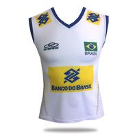 Camisa Feminina Branca Olympikus Cbv 2015